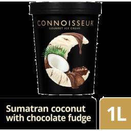 Photo of Connoisseur Sumatran Coconut With Chocolate Fudge Sauce 1lt