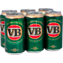 Photo of Victoria Bitter Cans 375ml 6 Pack