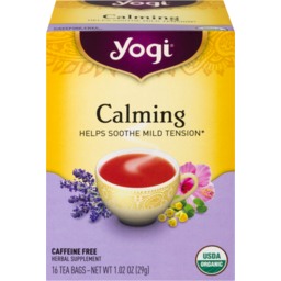 Photo of Yogi Calming Tea Bags - 16 Ct