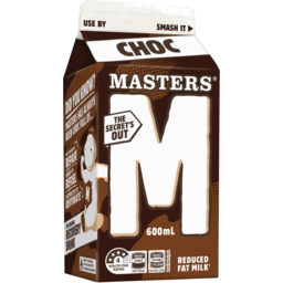 Photo of Masters Chocolate Milk 600ml Carton