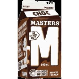 Photo of Masters Chocolate Flavoured Milk 600ml Carton