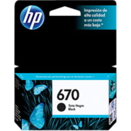 Photo of Hp Ink #670 Black