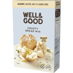 Photo of Well & Good Well And Good Crusty Bread Mix 410g