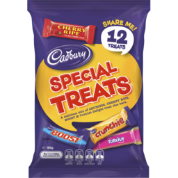 Photo of Cadbury Special Treats Chocolate Sharepack 180g (12 Pack)