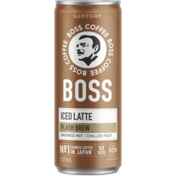 Photo of Suntory Boss Coffee Iced Latte 237ml