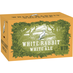 Photo of White Rabbit White Ale Stubbies
