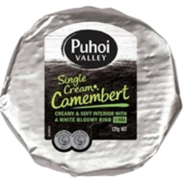 Photo of Puhoi Valley Soft White Cheese Oakvale Close Camembert Wheel 230g