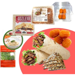 Photo of Chicken Kebab Meal Pack With Mushroom & Cheese Gozleme
