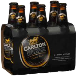 Photo of Carlton Black Ale Stubbies