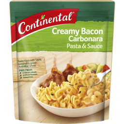 Photo of Continental Creamy Bacon Carbonara Pasta & Sauce 85g