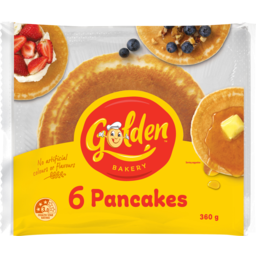 Photo of Golden Pancakes 6pk