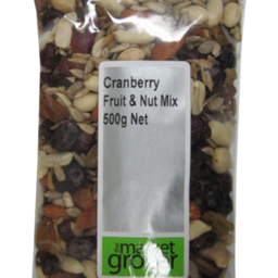 Photo of The Market Grocer Fruit & Nut Mix Cranberry 500gm
