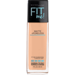 Photo of Maybelline Fit Me Matte & Poreless Mattifying Liquid Foundation - Pure Beige 235