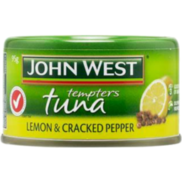 Photo of John West Tuna Tempters Lemon & Cracked Pepper 95g 95g