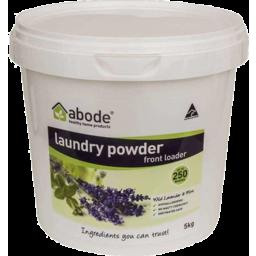 Photo of Abode Laundry Powder - Lavender & Mint 5kg