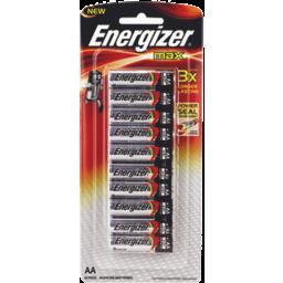 Photo of Energizer Max Alkaline Batteries Aa 10pk
