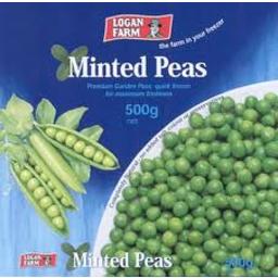Photo of Logan Farm Peas Minted 500g