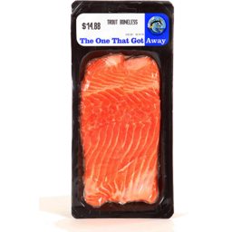 Photo of The One That Got Away Ocean Trout Boneless
