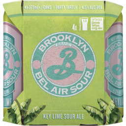 Photo of Brooklyn Bel Air Key Lime Sour Can 4 Pack