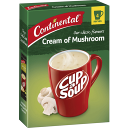 Photo of Continental Cup A Soup Classic Cream Of Mushroom 4 Pack 70g