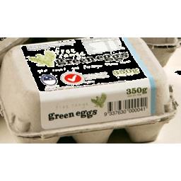 Photo of GREEN EGGS  - FREE RANGE 350G
