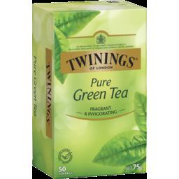Photo of Twinings Pure Green Tea Bag 50 Pack 75g