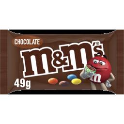 Photo of M&M's Milk Chocolate Singles Bag 49g