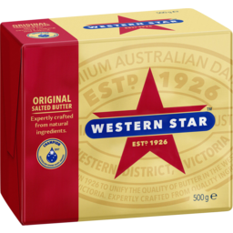 Photo of Western Star Original Salted Butter 500 G