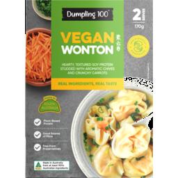 Photo of Dumpling 100 Vegan Wonton 170g
