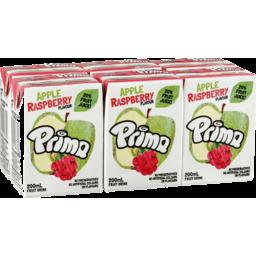 Photo of Prima Apple Raspberry Fruit Drink 6x200ml