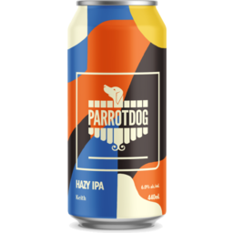 Photo of Parrot Dog Keith Hazy IPA 440ml