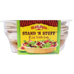 Photo of Old El Paso Stand N Stuff Tortillas 8 Pack