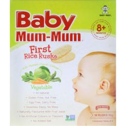 Photo of Baby Mum-Mum Rusks Vegetable Rice 36g