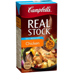 Photo of Campbell's Real Stock Chicken Salt Reduced 500ml
