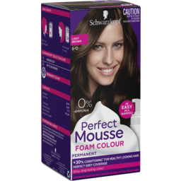 Photo of Schwarzkopf Perfect Mousse 6-0 Light Brown