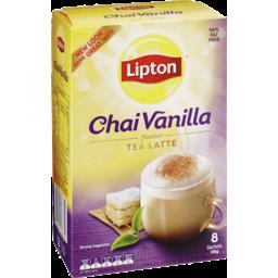 Photo of Lipton Chai Latte Vanilla 8 Sachets 185g