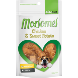 Photo of Vitapet Morsomes Dog Treats Chicken & Sweet Potato Biscuit 100g