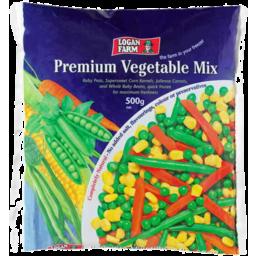 Photo of Logan Farm Frozen Premium Vegetable Mix 500gm