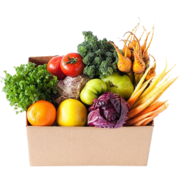 Photo of Organic Fruit & Veg Couples Box $50