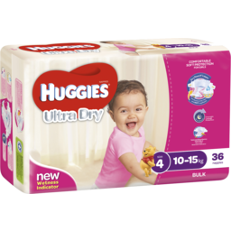 Photo of Huggies Toddler Girls 36
