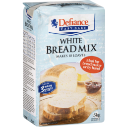 Photo of Defiance White Bread Mix 5kg
