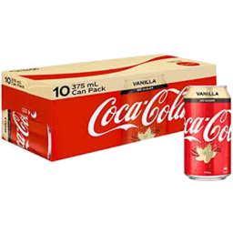 Photo of Coca Cola No Sug Van 10x375ml