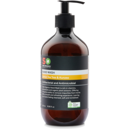 Photo of Saba Organics Hand Wash - Lemon Tea Tree & Kunzea