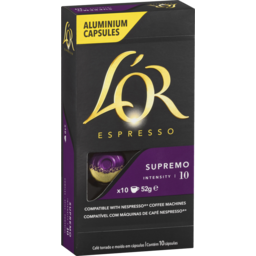 Photo of L'or Espresso Supremo Coffee Capsules 10 Pack