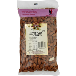 Photo of Nuts Almonds Dry Roasted 500g