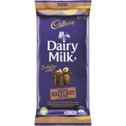 Photo of Cadbury Dairy Milk Creamy Hazelnut Crunch 170g