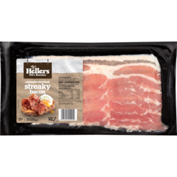 Photo of Hellers Streaky Bacon 250g