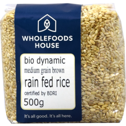 Photo of Wholefoods House Rice Brown Bd Rf Mg 500g