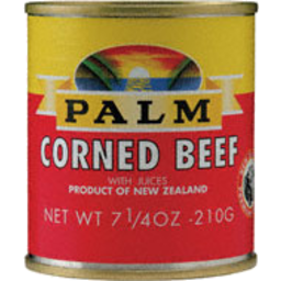 Photo of Palm Corned Beef 210g