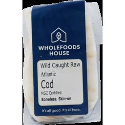Photo of Wholefoods House Cod Atlantic Wild Caught 150g